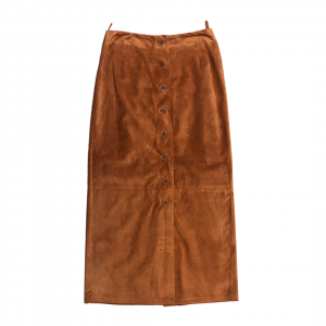 - 80's Suede Long Skirt | Gonna Lunga Scamosciata anni 80