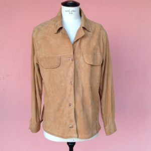 - Handmade suede jacket