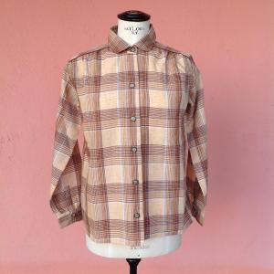 - Camicia scozzese fatta a mano