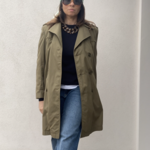 - Vintage trench