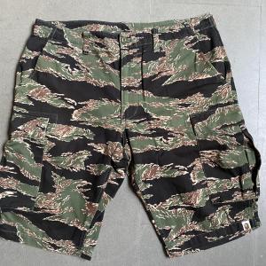 - BAPE camo bermuda shorts