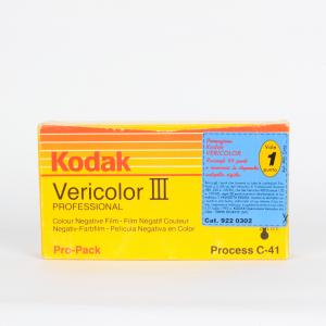 5x Kodak Vericolor III profesional