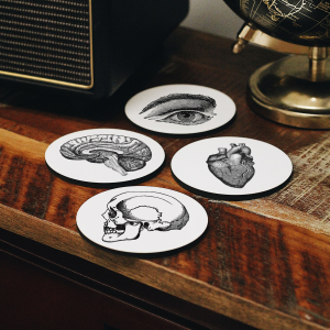 - Anatomy Coasters Set