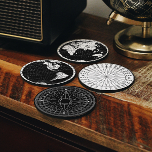 - Maps Coasters Set