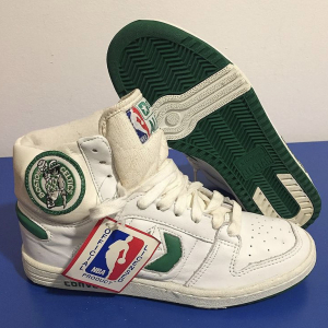 - Vintage 80s Converse All Star Boston Celtics Deadstock