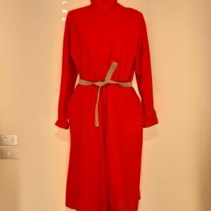 Vestito tuta ,pantalone rosso TAGLIA 44
