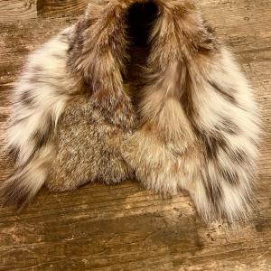 - Colletto lusso vera pelliccia