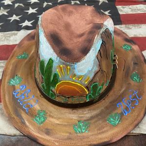 Cappello western deserto