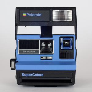 POLAROID SUPERCOLORS BLU