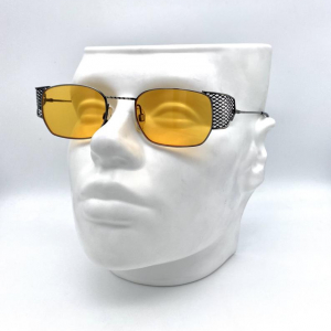 PAL ZILERI mod. NET40 Steampunk vintage Sunglasses Made in Italy 90'S Nos!