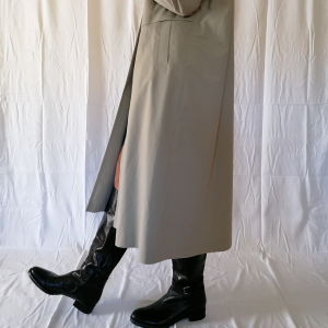 Vintage ice-grey trench