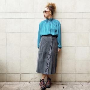 - Genny skirt  gran suede , sz 40