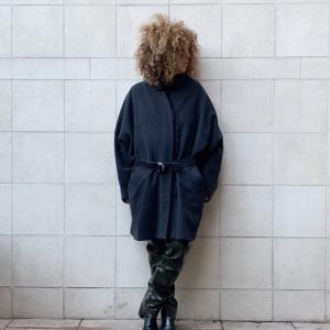 - Acne coat grey wool blend , sz 40