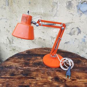 Lampada tavolo arancione