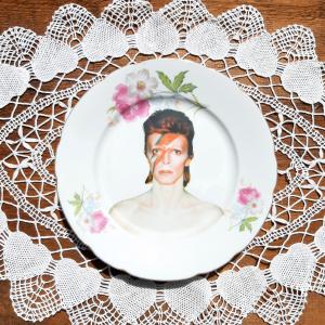 Piattino Dessert Vintage David Bowie