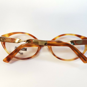 Moschino by Persol Vintage Montatura Occhiali Eyeglasses M31 90s Collection Unique Rare NEW NOS