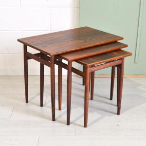 - Tavolino danese in palissandro anni '60