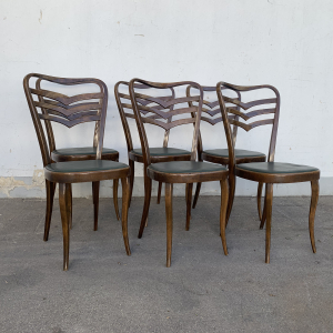 - 6 sedie vintage anni 50