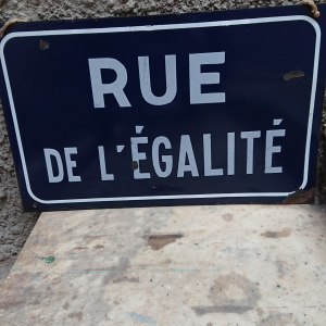 - Insegna strada francese