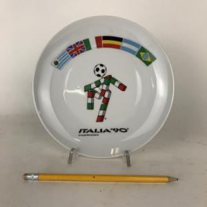 - Piatto commemorativo in ceramica ITALIA '90, Italiani Anni '90