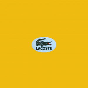 - Sticker Lacoste