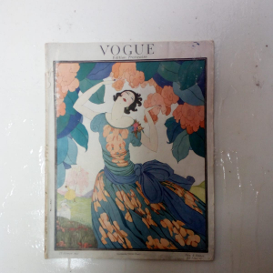 - Vogue France , originale  rivista d'epoca Francia anno 1921