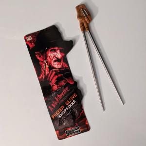 - Bacchette sushi / Freddy Krueger