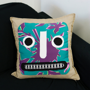 - FUNKY FOREST PILLOW #2