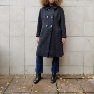 - Check coat , wool , onesize