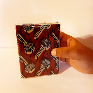 - African waxprint daily agenda-small size-
