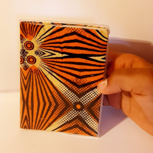 - African waxprint daily agenda -small size-