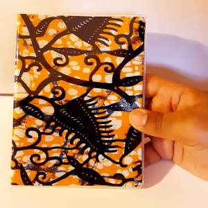 - African waxprint daily agenda -medium size-