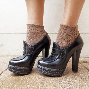 Prada shoes , brown leather, n 36,5