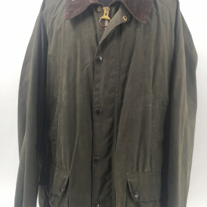 - BARBOUR BEDALE CLASSIC VINTAGE 80s/90s WAXED JACKET GREEN COLOR SIZE C48 122CM GRADE A/B CONDITION
