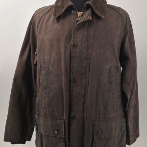 - BARBOUR BEDALE CLASSIC VINTAGE 80s/90s WAXED JACKET RUSTIC COLOR SIZE C38 97CM GRADE B CONDITION