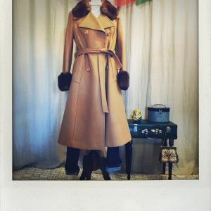 Cappotto vintage anni '70