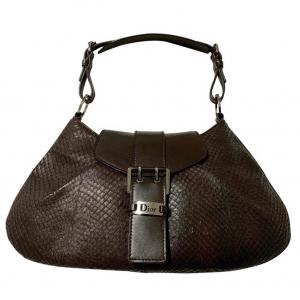 - mini bag DIOR , in reptile leather, 31x18x3 cm