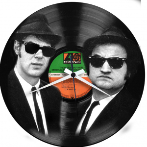 - BLUES BROTHERS - OROLOGIO IN VINILE Disco in vinile con stampa  Blues Brothers