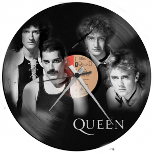 - QUEEN - OROLOGIO SU  DISCO IN VINILE