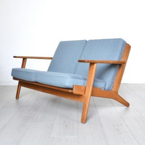 - Sofa GE 290 by H. J. Wegner per Getama - Danimarca anni '60