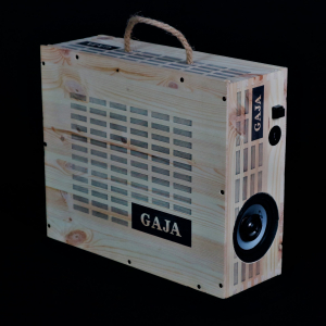 - GAJA 3 BOTTIGLIE 0.75LT CASSA BLUETOOTH SPEAKER PORTATILE