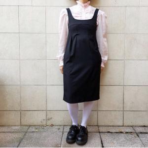 HACHE dress, black wool blend, sz 40